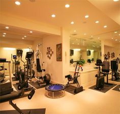 Exercising room