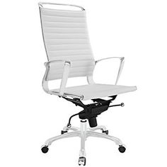 Tempo Highback Office Chair White