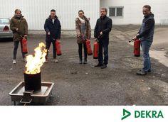 Nicht nur der Brand wurde erfolgreich gelöscht, auch unsere Teilnehmer haben erfolgreich das Seminar zum Brandschutzhelfer bestanden. Herzlichen Glückwunsch! :)