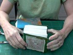 Bookbinding tutorial part 3 by Karin Bartimole Handmade Journals, Handmade Books, Scrapbooking, Scrapbook Albums, Book Repair, Bookbinding Tutorial, Bound Book, Book Crafts, Paper Crafts