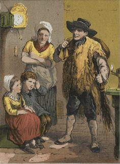 Zwarte Piet als kikker? Een heel andere Piet uit 1886