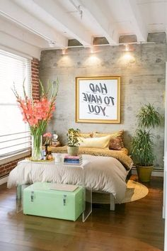 55 Stunning Eclectic Bedroom Decorating Ideas On A Budget - Home Decor - Bedroom Decor Bedroom Decor On A Budget, Home Decor Bedroom, Bedroom Ideas, Feng Shui, Loft Apartment Decorating, Tropical Bedrooms, Woman Bedroom, Master Bedroom Design, Bedroom Designs