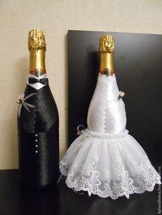 Купить Свадебные бутылки - свадебные аксессуары, свадебный подарок, бутылка декоративная, оригинальные подарки, свадьба