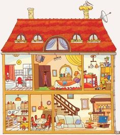 dollhouse painting ideas - Buscar con Google