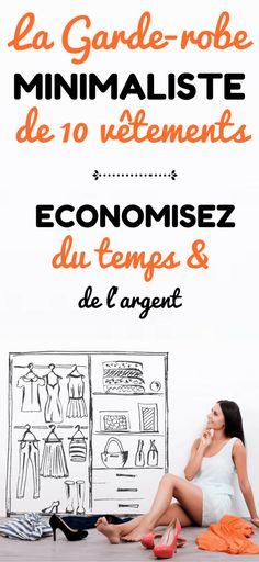 Economisez du temps & de l'argent avec une garde-robe minimaliste
