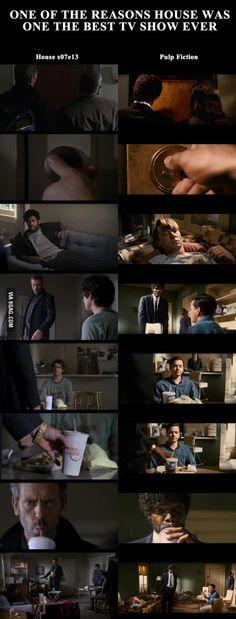 House x Pulp Fiction