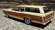 1969 Ford LTD Country Squire 1:25th scale Station Wagons For Sale, Ford Vehicles, Woody Wagon, Ford Ltd, Old Fords, Us Cars, Car Ford, Ford Motor Company, Model Kits