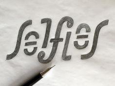 Selfie Ambigram