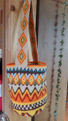 Der erste Versuch: Mochila Tapestry