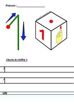 Apprendre à tracer les nombres en chiffre et en lettres en maternelle et cp en Moyenne section