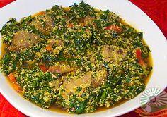 Nigerian Food Recipes TV| Nigerian Food blog, Nigerian Cuisine, Nigerian Food TV, African Food Blog: Nigerian Egusi Soup - Obe Efo elegusi : How to coo...