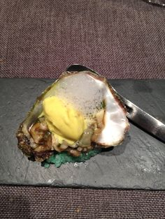 Oyster and mustard