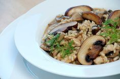 Risotto with Wild Mushrooms Recipe