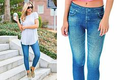 Ecco i jeggings che stanno bene a tutte Mom Jeans, Skinny Jeans, Anna Wintour, Ricotta, Jeggings, Bell Bottom Jeans, Pants, Beauty, Pane Lievitato