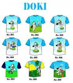 Camisetas de Doki