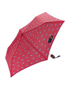Joules Printed Brolly in Various Designs - Anna Davies