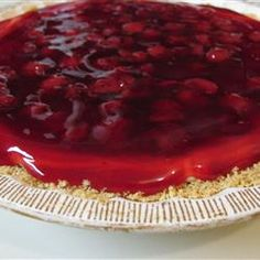 """How to make a yummy Mother Day  Pie within 20 Minutes    """"This is my grandmother's pie recipe that she always made for Christmas  but you could also use it for Mothers  Day or any other day!  A few times I use the light versions of the cream cheese and frozen whipped topping.  It is just as delicious as the regular version."""""""