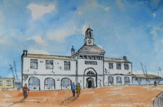 The Maritime Museum Ramsgate Royal Harbour by JulianLovegroveArt