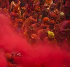 Give me Red by Jassi Oberai on Holi Wishes In Hindi, Happy Holi, Journalism, Give It To Me, Scene, Red, Painting, Journaling, Painting Art