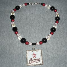Astros Pendant on Team Spirit Beads by sassygirlsx3 on Etsy, $29.95