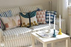 Decoration, Slipcovers, Sweet Home, Cushions, House Design, Couch, Throw Pillows, Furniture, Ikea Hacks