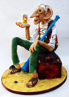 Roald Dahl cake......what does .....B.F.G........stand for....????