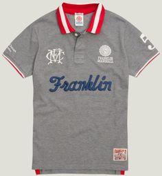 Men's polo shirt grey melange | Polo | Man | Collection | Franklin