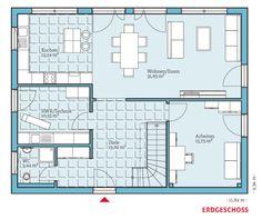 Grundriss-DG, Variant 45-175, 80,05 m²