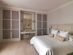 #Bedroom at #HydeParkGardens Project, London. http://www.tlastudio.co.uk
