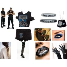"""""""Ring Side For Seth Rollins,Roman Reigns vs Goldust and Cody Rhodes"""" by anaeve on Polyvore"""