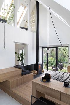 24 Minimalist Home Interior Design – House The Design Decor Interior Design, Furniture Design, Interior Decorating, Decorating Games, Interior Minimalista, Minimalist Home Interior, Minimalist House, Modern Minimalist, Luz Natural