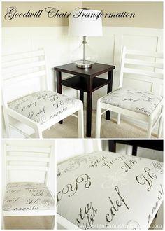 DIY Tutorial: Crafts / DIY Chair - Bead