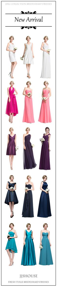 New Arrival ! 2016 Collection Bridesmaid Dresses! #bridesmaiddresses