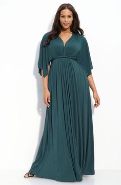 $264 Rachel Pally White Label Long Caftan Dress (Plus) | Nordstrom
