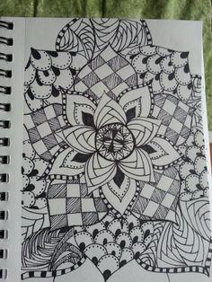 #Zentangle Inspired