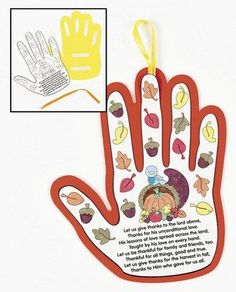 12 Pack of Harvest Poem Handprint Crafts. This is a really easy craft for all ag. K Crafts, Bible Crafts, Preschool Crafts, Thanksgiving Poems, Thanksgiving Crafts For Kids, Thanksgiving Religious Crafts, Autumn Crafts, Christian Preschool, Christian Crafts