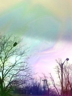 Edited, sky over my home