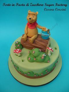Winni the Pooh by Torte in Pasta di Zucchero Sugar Factory