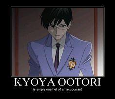 kyoya ootori meme - Google Search