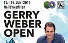 #Ticket  Ticket Gerry Weber Open 18.06.2016 Halbfinals Unterrang Beste Kategorie #deutschland