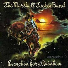 Can't You See (Live) by The Marshall Tucker Band (from Searchin' For A Rainbow) Rock Album Covers, Classic Album Covers, Music Album Covers, Lp Cover, Cover Art, Lps, Classic Rock Albums, The Marshall, Lp Vinyl