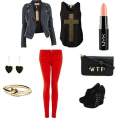 """""""BadAss"""" by paper-flowers on Polyvore"""