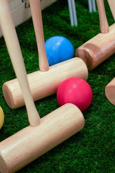 Croquet sets by @JaquesLondon at The Conran Holiday Shop