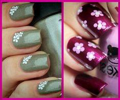 293 Mejores Imágenes De Uñas Decoradas Con Flores Pretty Nails