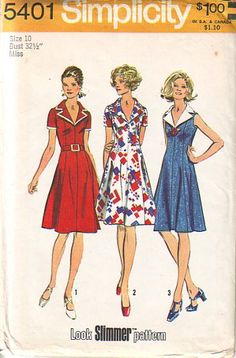 Flared Sweetheart Dress Pattern Style 4658 Vintage Sewing Pattern Empire  Line Above Knee Length Mini Boho Dress Bust 8a848f061