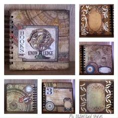 Δώρα για τις αγαπημένες μας μαθήτριες vol 3!!!!!  Books 📚 - Knowledge photo album!!!!!  #scrapbooking #photoalbum #muxmedea #books #knowledge #book 📚 #vintage #memories #specialgift 🎁 #memorybook #paper #alchemy #art #journal #inspiration #vintagetones #stamperia #artwork #creative #artjournal #photos