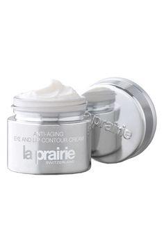 On my skin care wish list: La Prairie Anti-Aging Eye & Lip Contour Cream