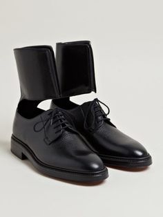 Yang Li Women's Lucia Ankle Cuff Shoes From SS13 Collection In Black