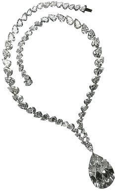 Taylor-Burton Diamond Necklace