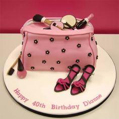Birthday Cakes For Women 40th Cake